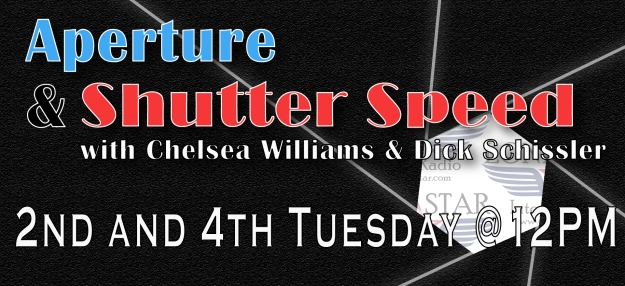 Aperture and Shutter Speed - Every 2nd and 4th Tuesday at 12PM