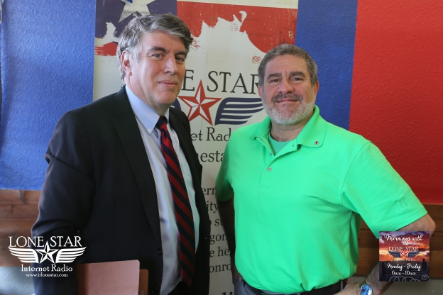 January 29th, 2016 - Mornings with Lone Star - Meet The Candidates With Chuck Meyer