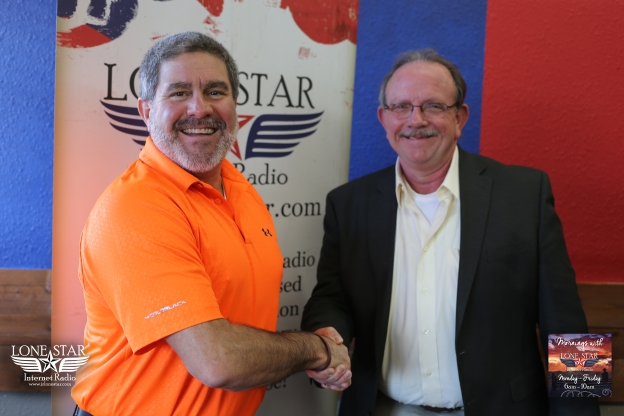 January 13th, 2016 - Mornings with Lone Star - Jimmy Cox for Constable PCT. 2