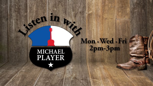 The Michael Player Show - MON/WED/FRI at 2pm