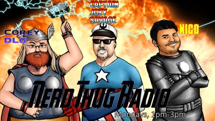 Nerd Thug Radio - Mondays from 1pm-3pm